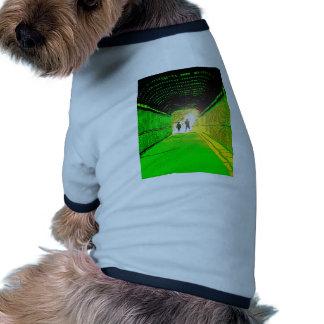Alien Encounter Dog T Shirt