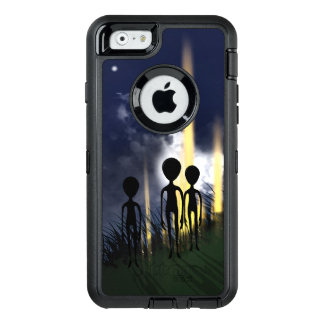 Alien Encounter OtterBox Defender iPhone Case