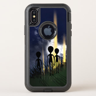 Alien Encounter OtterBox Defender iPhone X Case