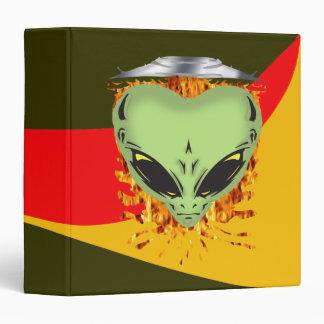 Alien Encounters 3 Ring Binder