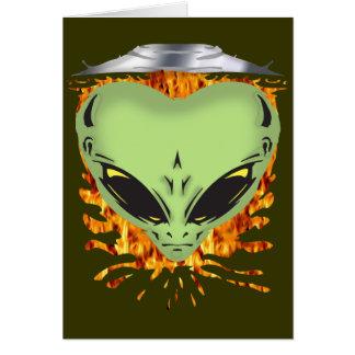 Alien Encounters Card