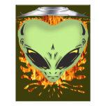 Alien Encounters Full Color Flyer