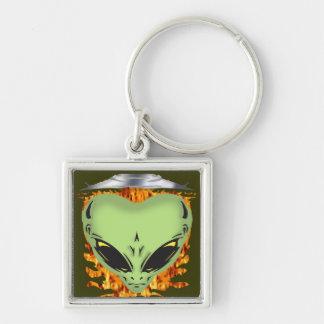 Alien Encounters Key Chain