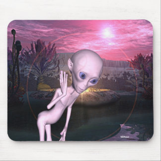 Alien Encounters Mousepad