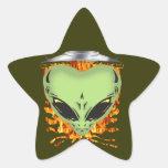 Alien Encounters Sticker