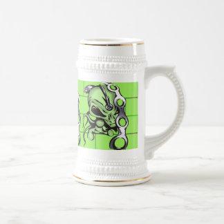 Alien Enslaves Humans Coffee Mugs