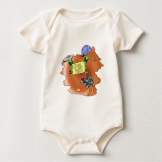 Alien Eviction Baby Bodysuit
