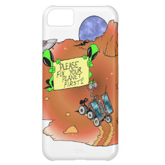 Alien Eviction iPhone 5C Cases