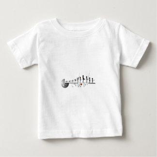 Alien Evolution Baby T-Shirt