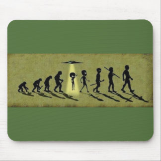 Alien evolution mouse pad
