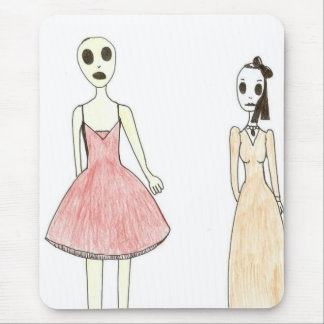 Alien Exposed as a Drag Queen Mouse Pad
