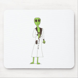 Alien Exposed Stealing Candy Mouse Pad