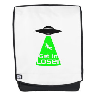 Alien  Extraterrestrial Life Enthusiasts Funny Backpack