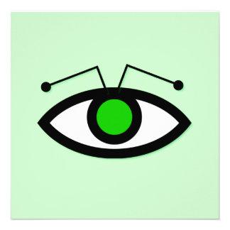 Alien Eye Invitation