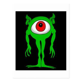 ALIEN Eye Postcard