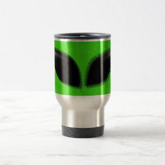 Alien Eyes 15 Oz Stainless Steel Travel Mug