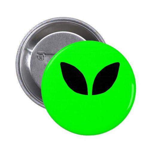 Alien Eyes 2 Inch Round Button