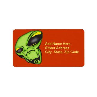 Alien Eyes Label
