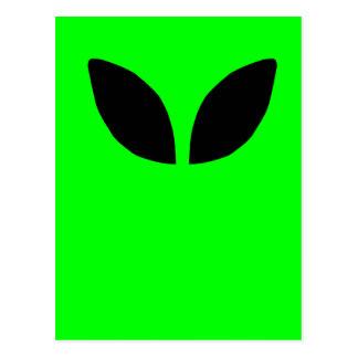 Alien Eyes Postcard
