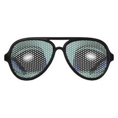 Alien Eyes Sunglasses Fun Alien Costume Gifts at Zazzle