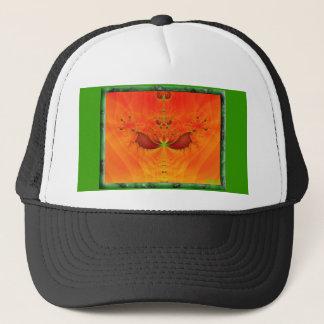Alien eyes trucker hat