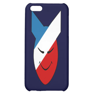 Alien Face Happy Bomb Speck Case iPhone 5C Covers