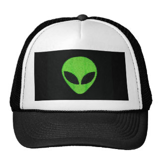Alien face hat