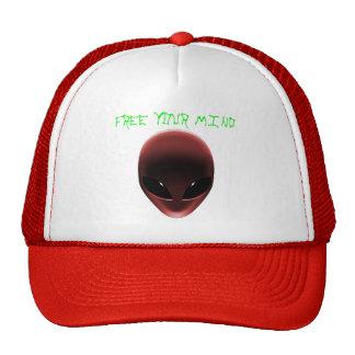 Alien Face Trucker Hat
