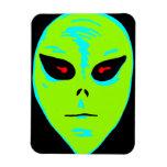 Alien Face Premium Magnet