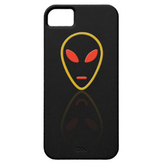 Alien face reflection iPhone SE/5/5s case