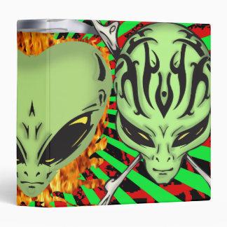 Alien Faces Binder