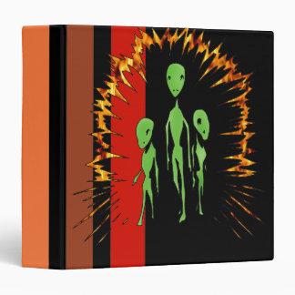 Alien Family 3 Ring Binder