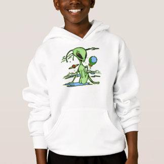 Alien Female Hoodie