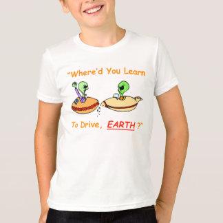 Alien Fender Bender Kid's T-Shirt