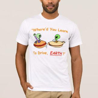 Alien Fender Bender Men's T-Shirt