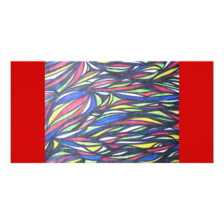 Alien Fish Migrating Picture Card