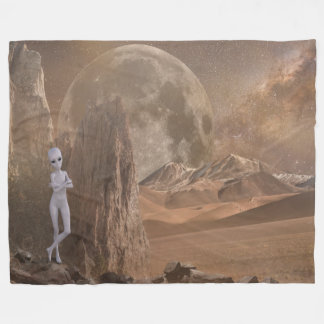 Alien Fleece Blanket, Large