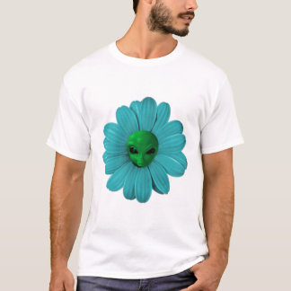 Alien Flower Heads T-Shirt