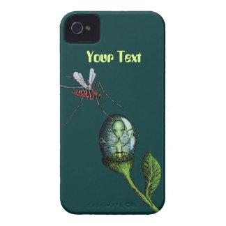 Alien Flower Pod iPhone 4 Case