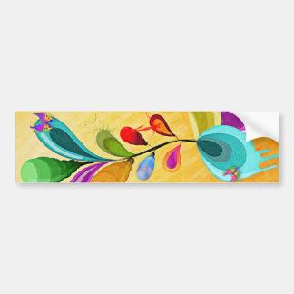 Alien Flowers - Bumper sticker