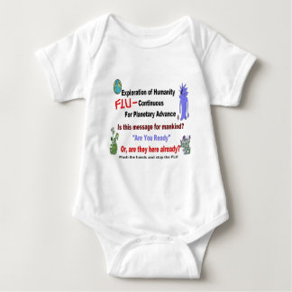 Alien Flu Mystery Message.JPG T-shirts