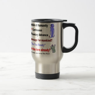 Alien Flu Mystery Message Travel Mug