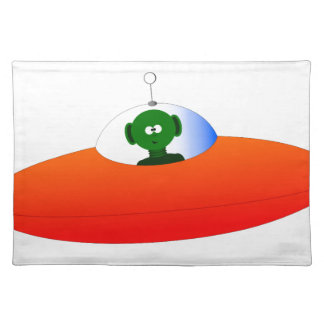 Alien Flying Saucer Placemat