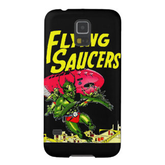 Alien Flying Saucers Vintage Comic Book Art Galaxy S5 Case