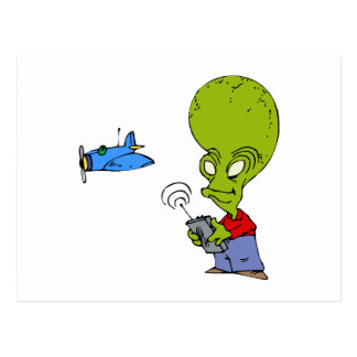 alien_flying_toy_plane_postcard-r91f5825