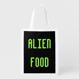 Alien Food Grocery Bag