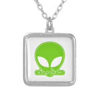 Alien [Foreigner] Tang Dao ★ Thai Language Script Silver Plated Necklace