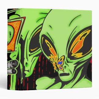 Alien From Outerspace Vinyl Binder