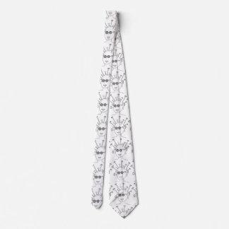 Alien Funny Neck Tie