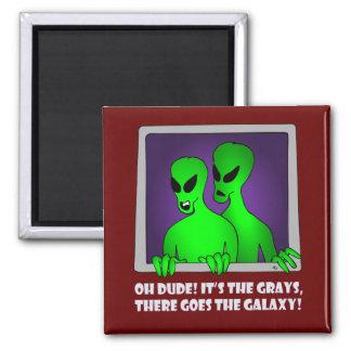 ALIEN GALAXY-5 MAGNET